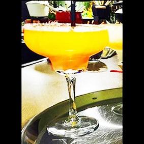 Margarita-mango la fondue mexicana