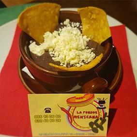 frijoles la fondue mexicana