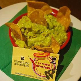guacamole la fondue mexicana