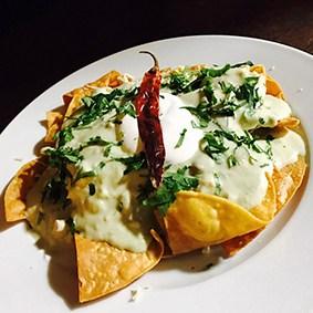 chilaquiles del chef la fondue mexicana