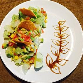 ensalada de aguacate la fondue mexicana